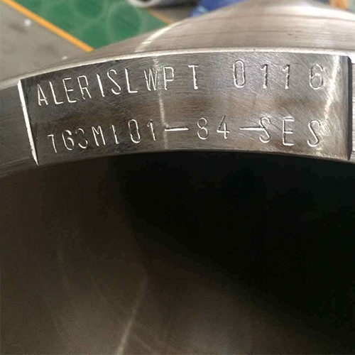 钢套筒出厂标识